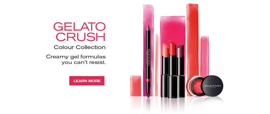 Elizabeth Arden Canada : Makeup & Beauty : Gelato Crssh Color Collection