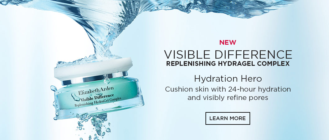 Elizabeth Arden Canada : Visible Difference Spa-inspired skin care for all skin types